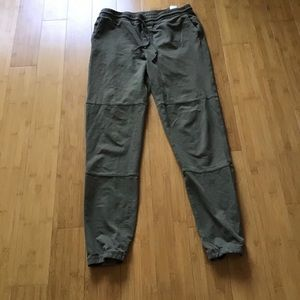 NWOT Roots Army Green Jogger